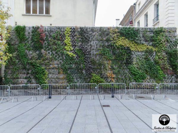 sytème de gabion pour jardin vertical  Jardins de Babylone  www.jardinsdebabylone.fr    #murvegetal #murvegetalexterieur