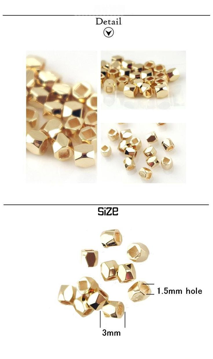 thick gold plated irregular metal spacers beads high quality Diy jewelry findings bracelet accessories 20pcs/lot(MS1073 )-inBeads from Jewelry on Aliexpress.com | Alibaba Group