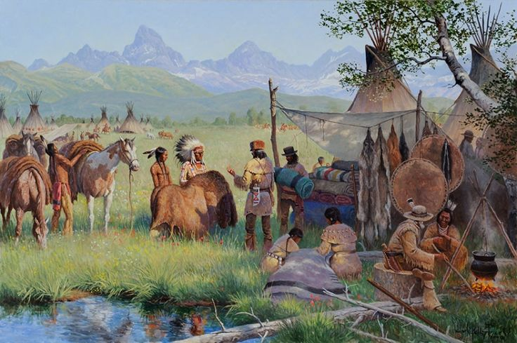 fur traders and mountain men - Google Search