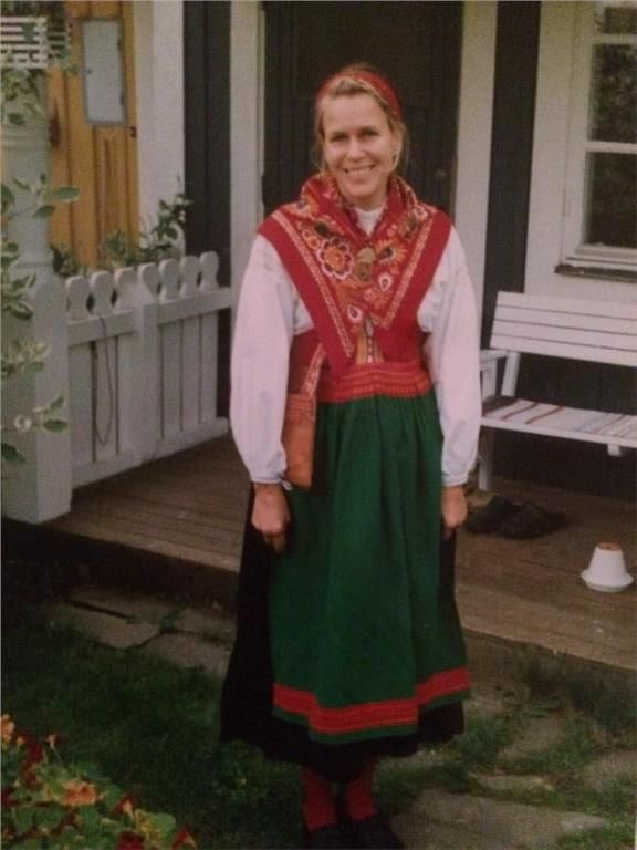 Folk costume from Mora, Sweden from the 1920's