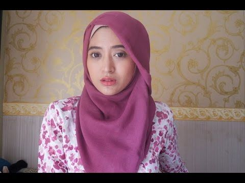 "Tutorial Hijab Pashmina- 3 Tutorial Simple With Ayu Indriati ""Hijabis Barbie"" - YouTube"