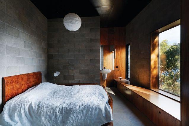 Kerstin Thompson. Big Hill House. Concrete Blockwork. Timber.