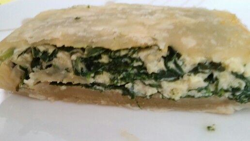 #Spinach and #Ricotta Roll