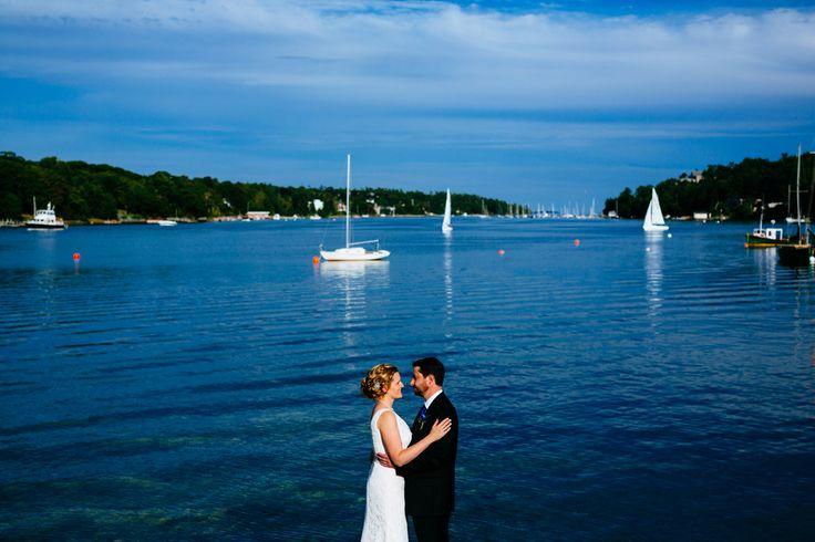 Right on the water #Wedding #Halifax #NovaScotia #Canada #HalifaxWedding #VSCO #VSCOFilm
