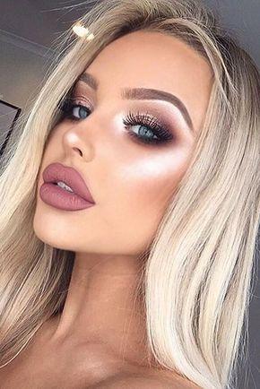16 #trucos fáciles de #maquillaje que te salvarán el día Prom Makeup Looks, Cute Makeup, Gorgeous Makeup, Simple Makeup, Fresh Makeup, Awesome Makeup, Flawless Makeup, Perfect Makeup, Eye Makeup Tips