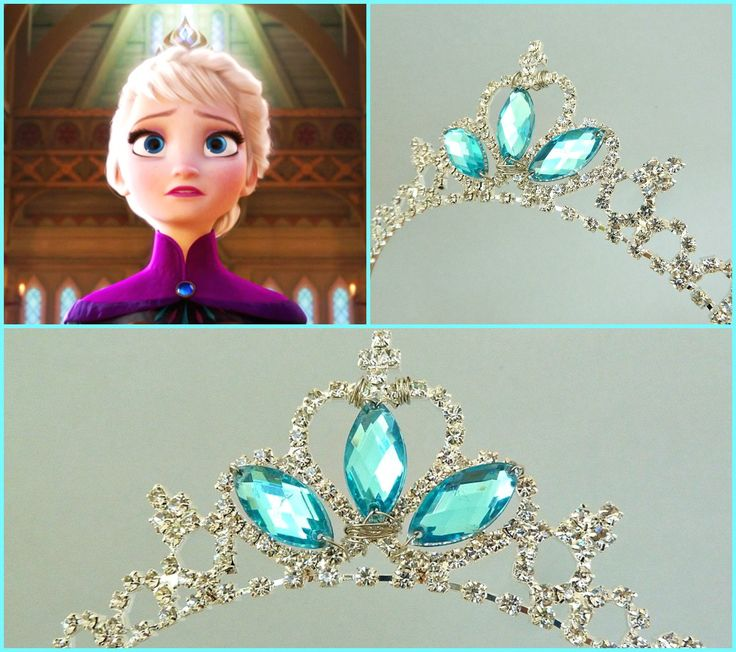 elsa crown making party invitations ideas