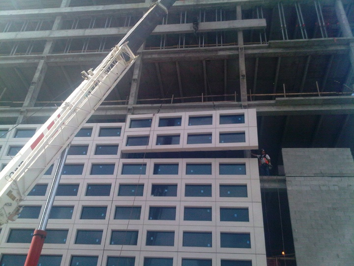 Precast Concrete Wall Systems With Pre Installed Windows