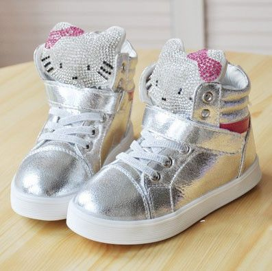 Youth Hello Kitty Sneakers
