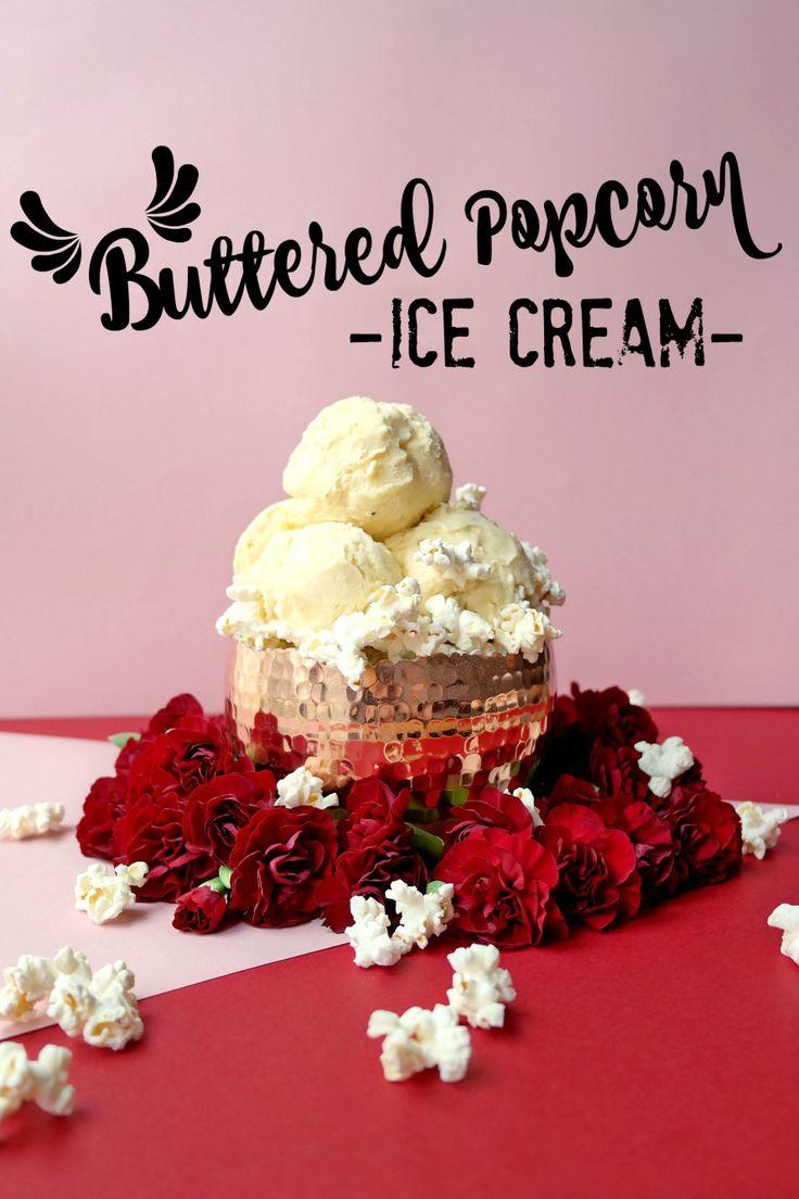 Buttered Popcorn Ice Cream (Crème Glacée au Popcorn Salé) – A Parisian Journey