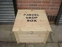 parcel drop box - Google Search
