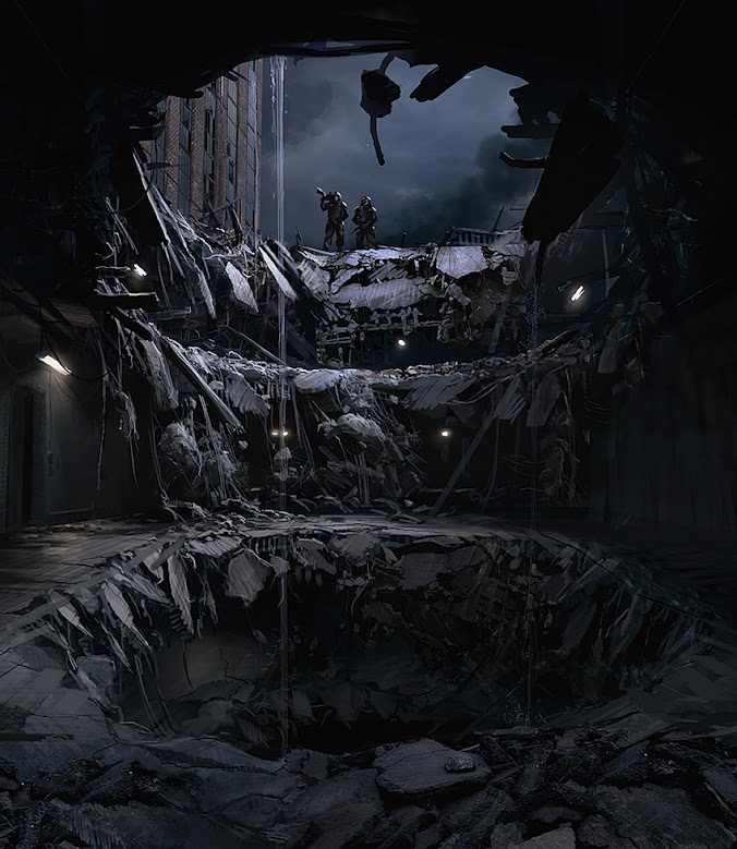 Outstanding Examples Of Concept Art, Mattepainting And Illustration ~ Sores Pel