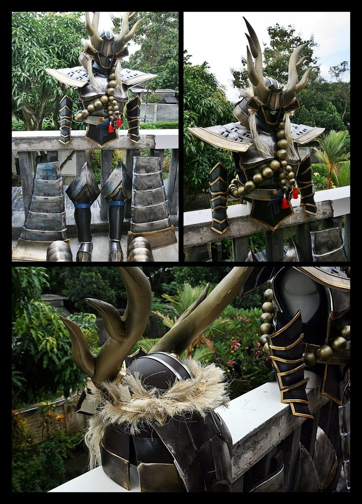 Samurai warriors 4 - Tadakatsu honda armors by carlosdouglas on DeviantArt