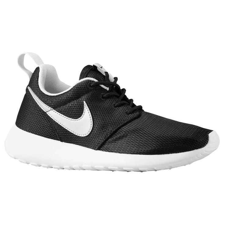 04d15be48c3d6d ... low cost nike roshe white and blacknike roshe one boys grade school  running shoes black white
