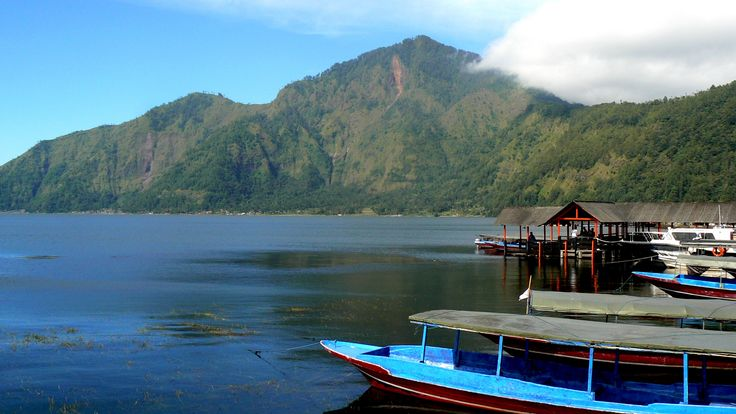 Bali's vulkano lake.