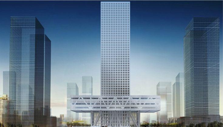 Architect KUNLE ADEYEMI SHENZHEN STOCK EXCHANGE HEADQUATERS