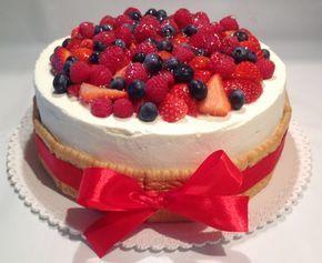 VÍKENDOVÉ PEČENÍ: Ovocný narozeninový dort