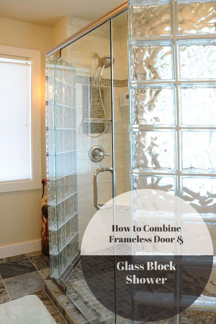 How To Create A Luxury Glass Block Shower With A Frameless