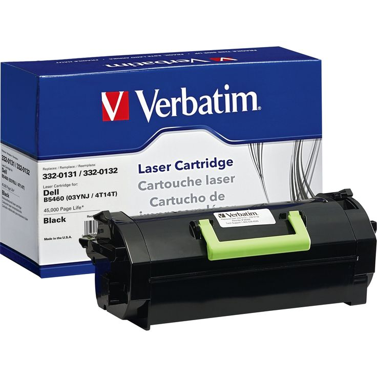 Verbatim Remanufactured Laser Toner Cartridge alternative for Dell 33 #99366