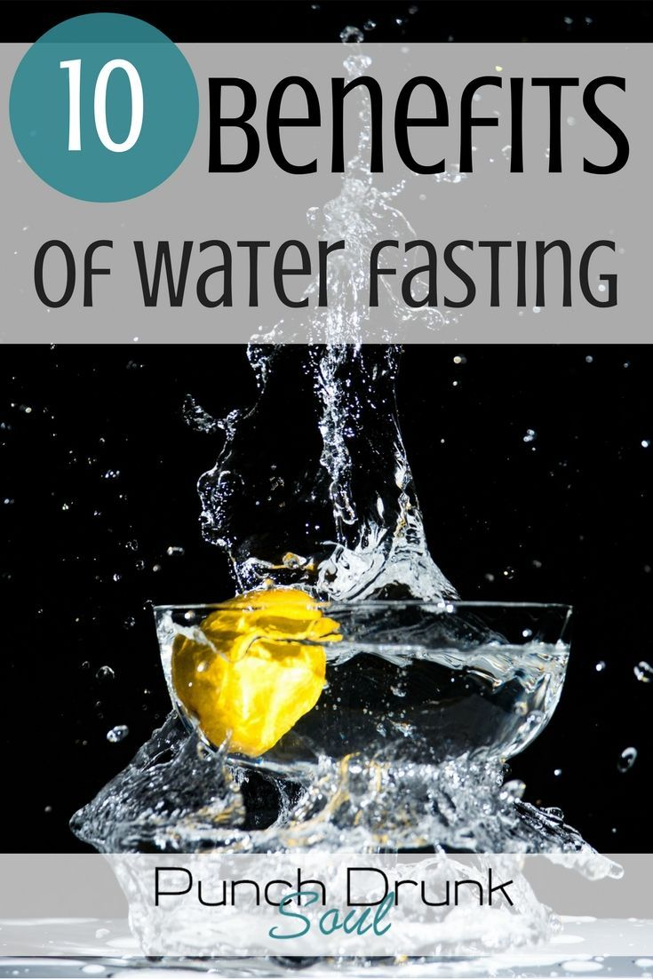 water fasting, benefits of fasting, 3 day water fast, 7 day water fast