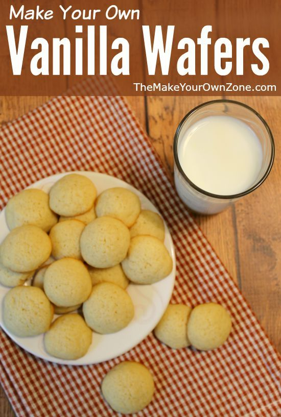 Recipe to make your own vanilla wafers - a simple update to one of my favorite cookie recipes!
