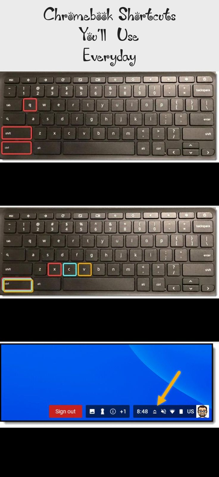 Chromebook shortcuts youll use everyday technology in