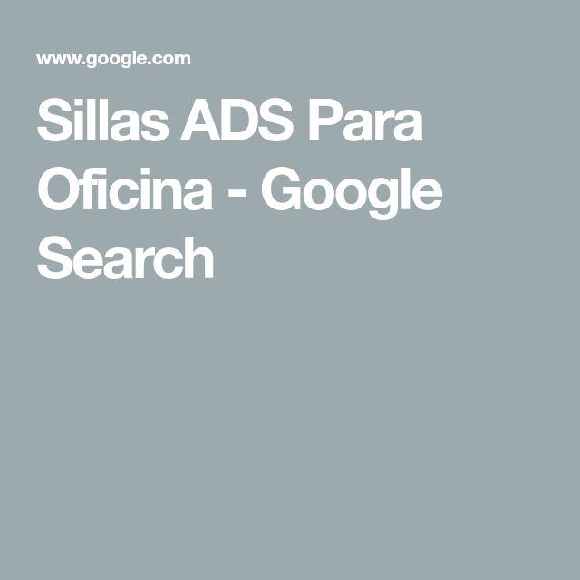 Sillas ADS Para Oficina Google Search | Sillas
