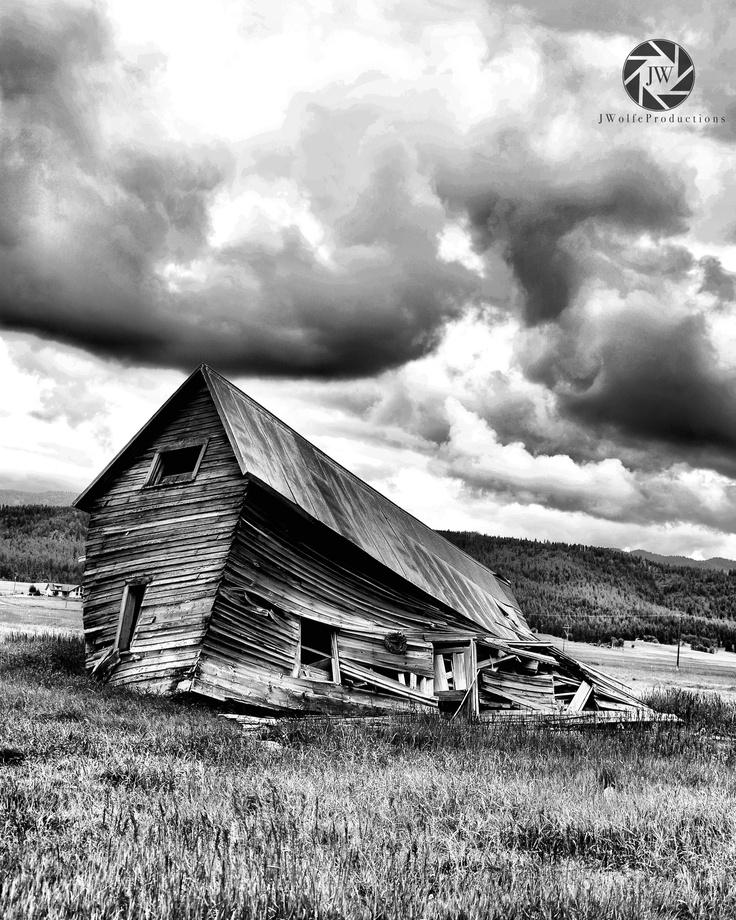 Sagging Barn, Cascade, Idaho