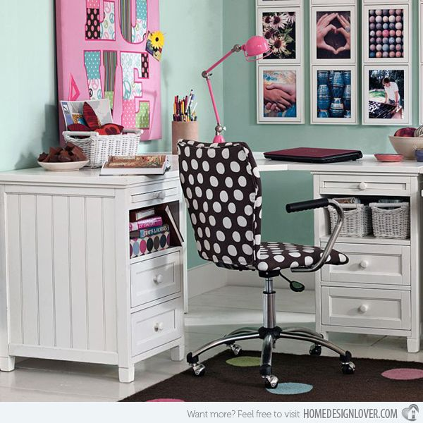 80 best pink teen desks images on pinterest | desk ideas, study
