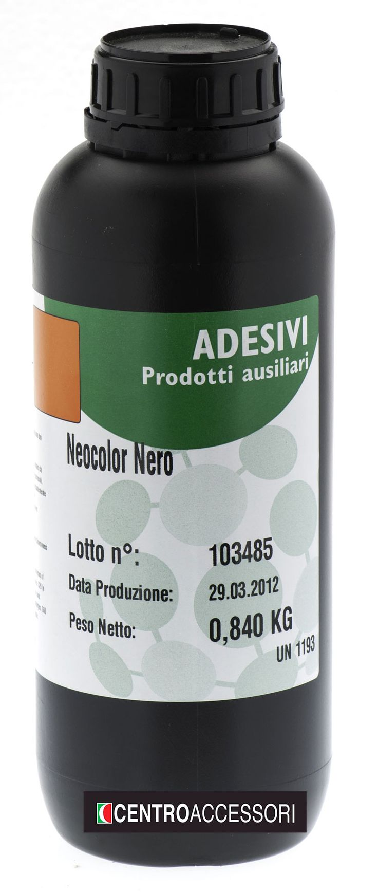 Neocolor/Ecocolor, coloranti per adesivi a base poliuretanica, policloroprenica e base d'acqua. Colouring agent for solvent based adhesives. #CentroAccessori