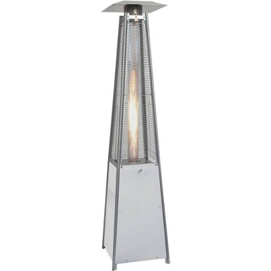Patio Gas Heater Price Check: Hanover Patio Heater Stainless Steel HAN110SS