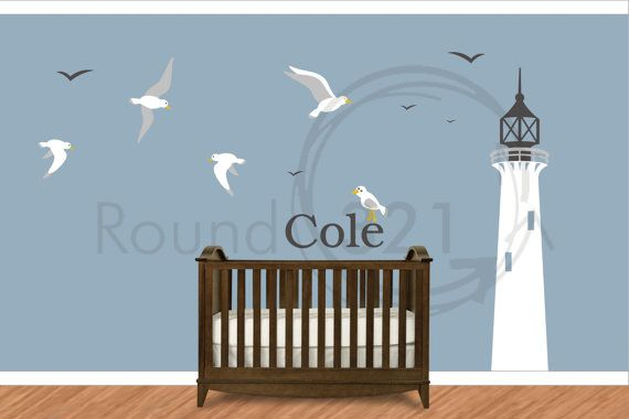 children 39 s wall decal nautical decor for bedroom playroom