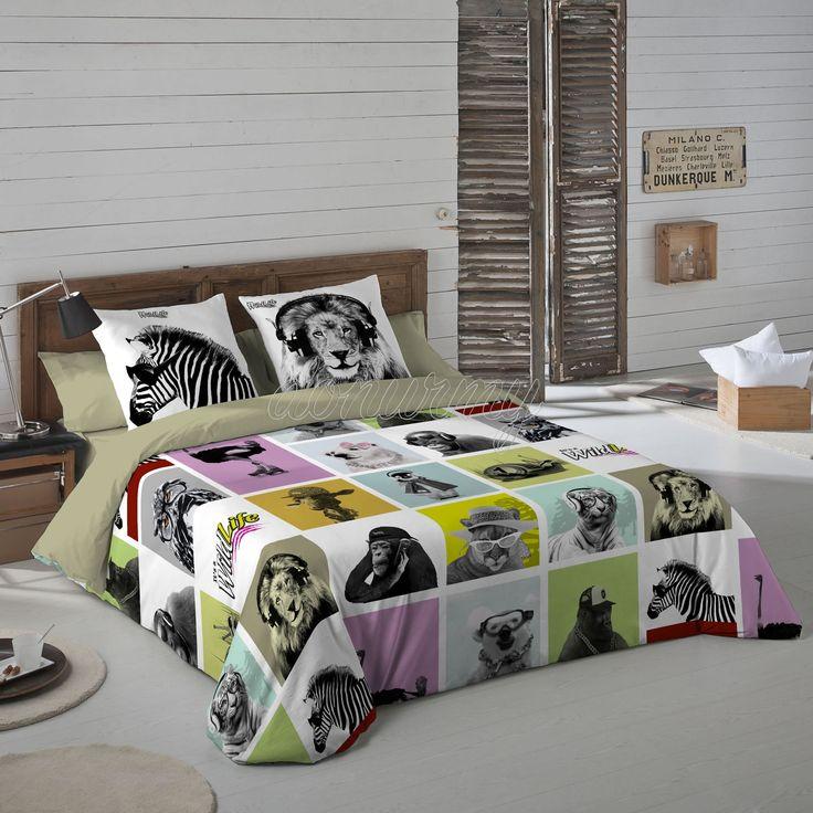 Funda Nórdica Trophic Wild Life - Bazartextil.com