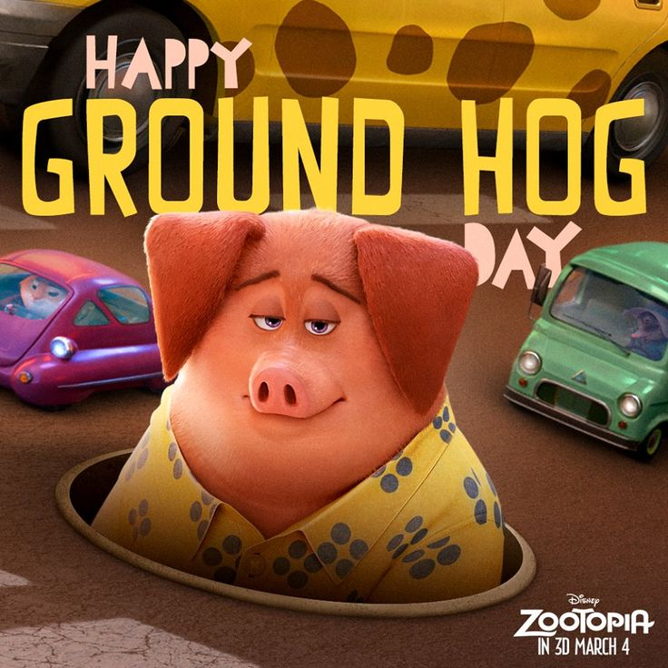 Happy Groundhog Day! #groundhogday