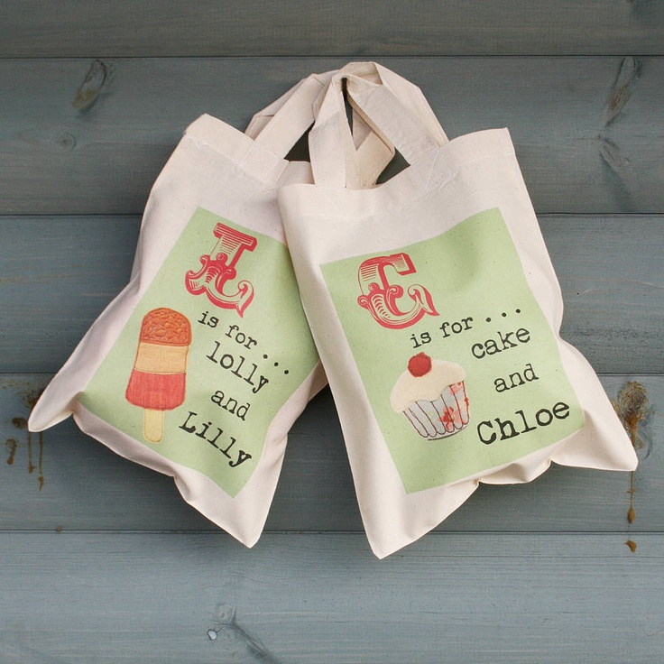 Children's favour bags