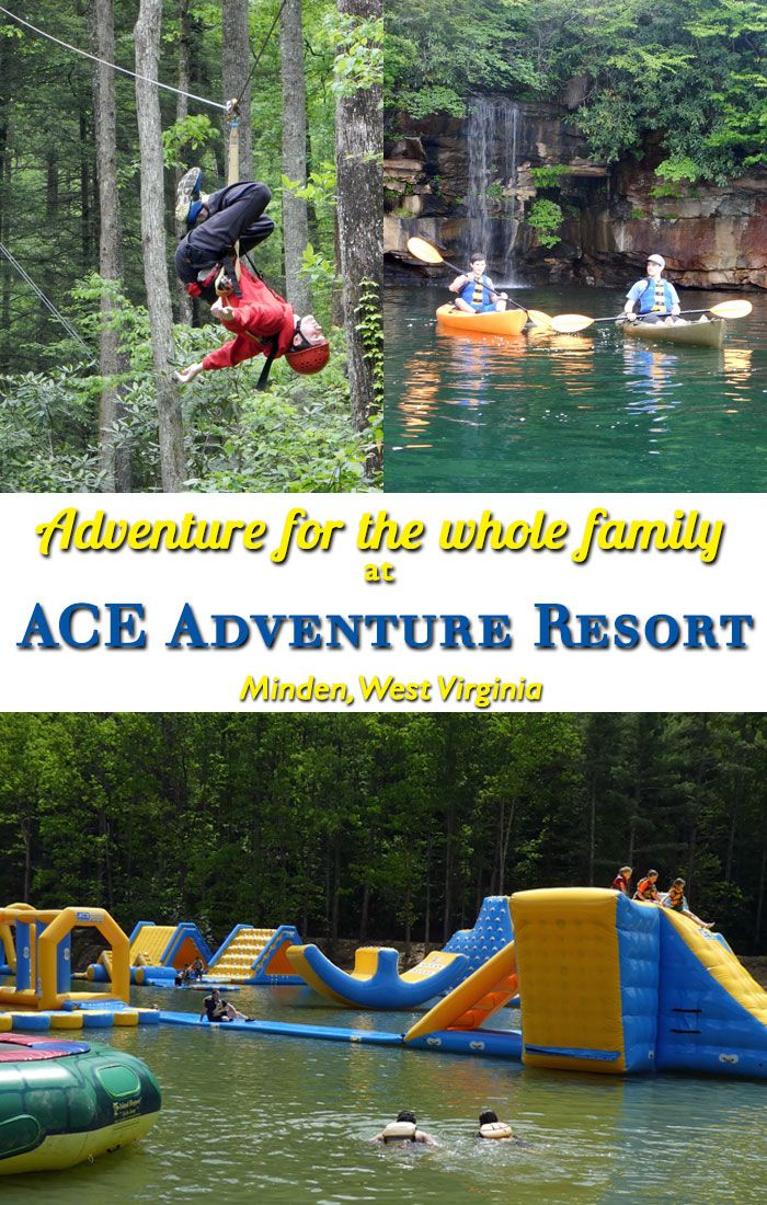 ACE Adventure Resort - adventure for the whole family in Minden, WV
