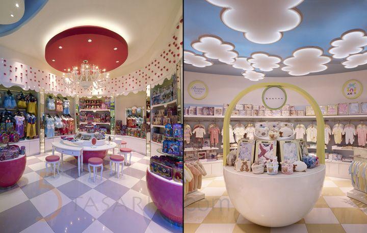 çocuk mağazaları dizaynı