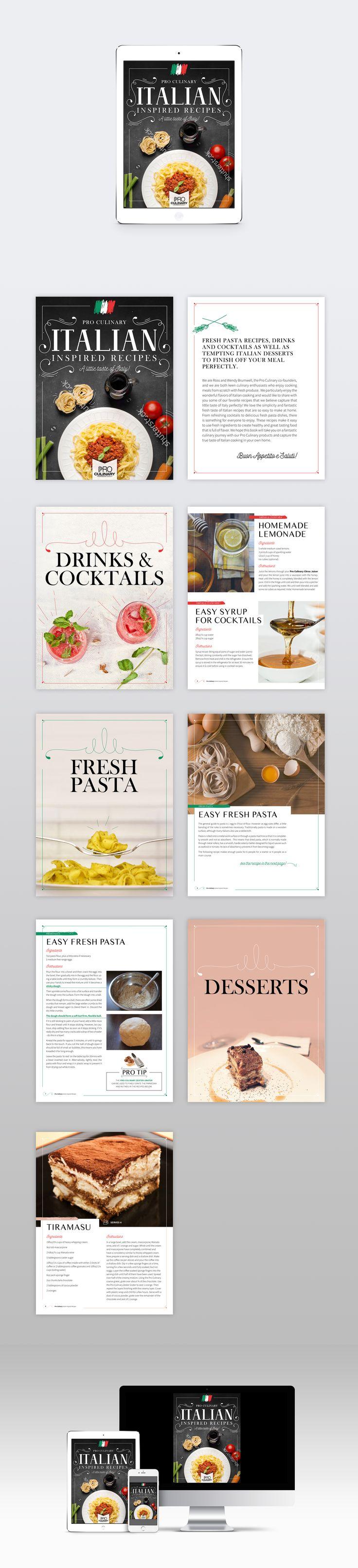 8d542791260aeeac52206a378f8a689d Italian Recipes Book Cover Design