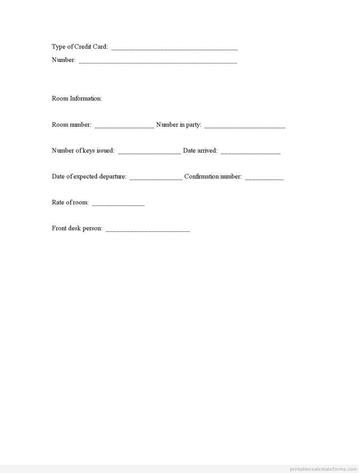 25 best ideas about Registration Form Sample – Guest Register Template