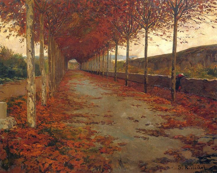 Santiago Rusiñol i Prats ~ Modernist/Symbolist painter