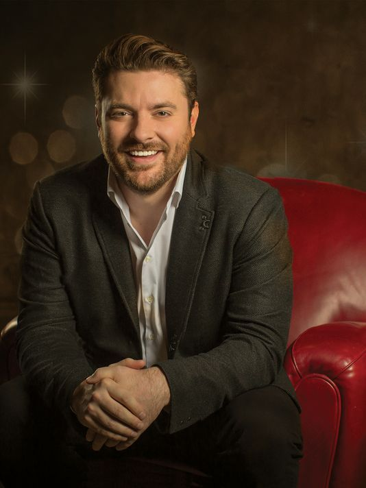 Chris Young's 'It Must Be Christmas' will be in stores Friday.