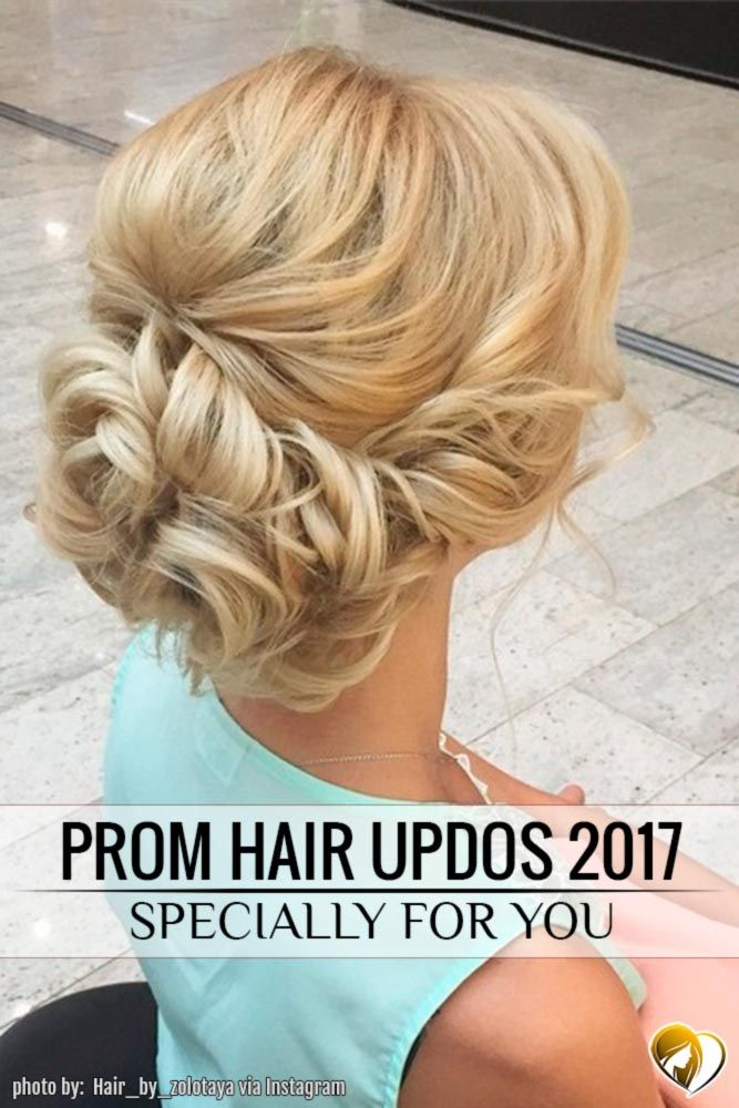 Prom hair updos stay trendy from year to year due to their gorgeous look and versatility. And the latter is truly essential for the occasion, as each element of your chosen image should be matching. Therefore, pick one of our hairstyle suggestions, and it will be much easier to combine it with other elements.
