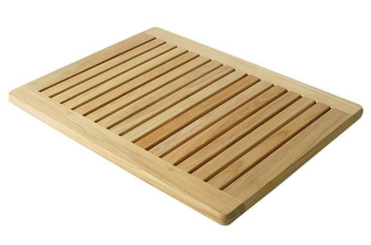 Create a Zen Bathroom: 10 Wooden Bathmats
