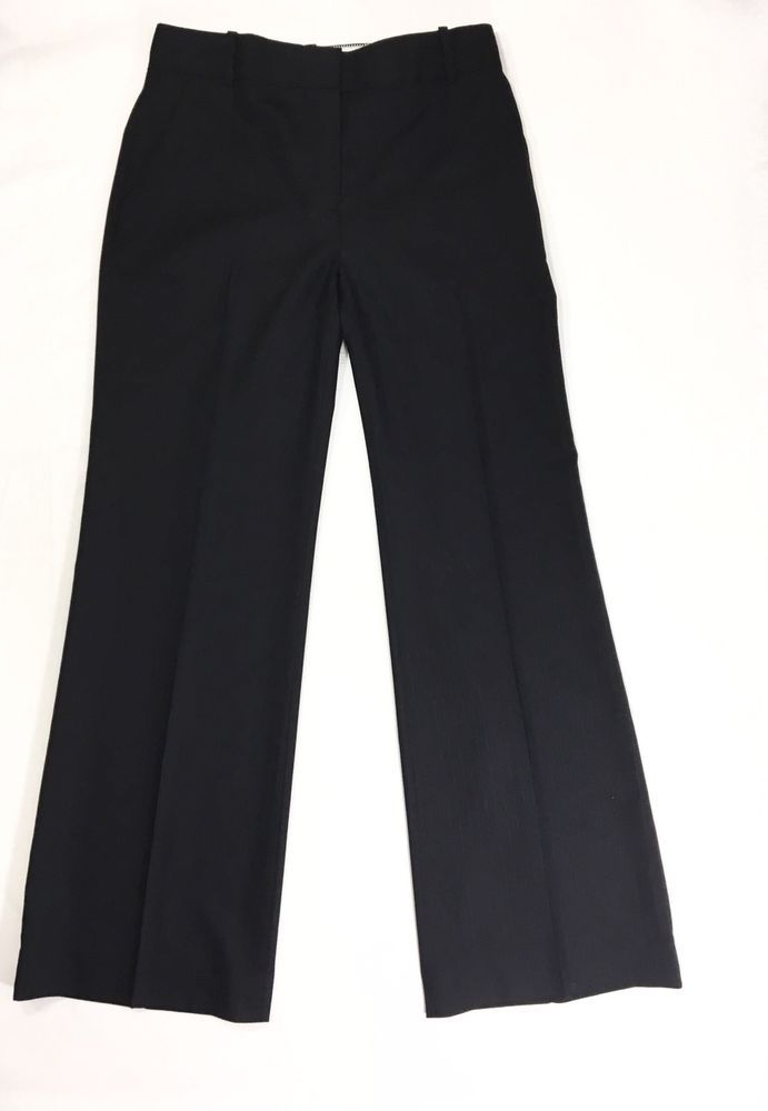 bc449a6dbce J. CREW Womens Dress Pant Size 8P | 100% Wool Gray Striped Career Hutton  Trouser #JCREW #DressPants