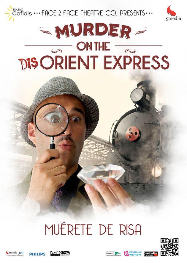'Murder on the Dis-Orient Express', teatro en ingles para toda la familia