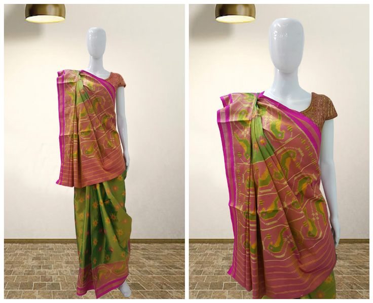 A Rich Patola saree for the Royalties. It is said that Patolas are for the Royal people. A hand woven saree with pure 80 gms silk. It takes months to make such beautiful patolas. Once Clad - you will be the centre of attraction of the occasion.  Ocassion: Party Wear  #sankalpthebandhejshoppe #sankalpbandhej #patolas #rajkotipatola #bandhanisaree #bandhanidupatta #silksaree