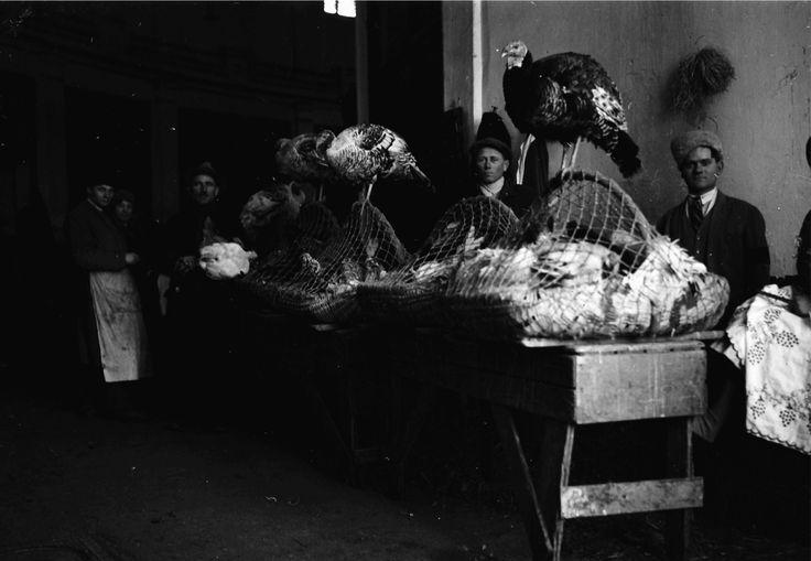 Turkey seller, April 1932