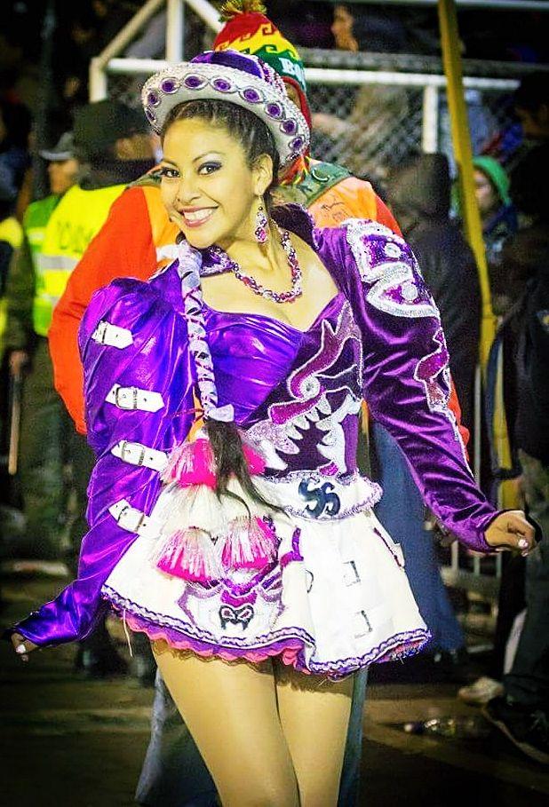 Traje de cholita caporal - San Simón Sucre #Caporal #Sansimon #Bolivian #Bailefolklorico #Dancing #Oruro #Bolivia