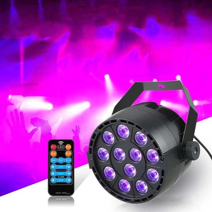 12 LED Par Stage Light 20W DMX 512 Dream Color Light for Club Sales Online eu - Tomtop.com  #flashlight #light