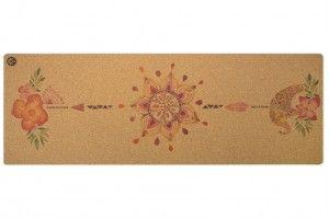 Tropical Vibes Native Cork Yoga Mat