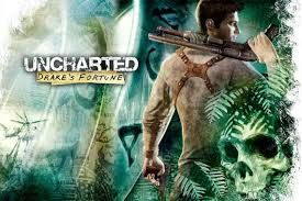 Computer games.: Uncharted: Drake's Fortune  #uncharted #drakesfortune #nazi #explosions #mutants #spanish #QuentinTarantino #indianajones #tombraider #laracroft #nathandrake #ps3 #ps4 #playstation #playstation3 #playstation4 #playstationnow #exclusivetitles